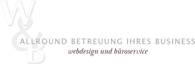 Allround Betreuung Ihres Business - Webdesign und Büroservice